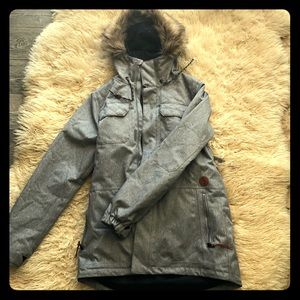 c4b8820b74 Women s Volcom Fur Jacket on Poshmark